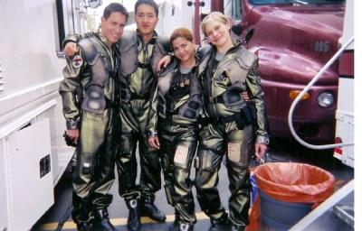 Bodie Olmos, Terry Chen, Luciana Carro and Katee Sackhoff (season 1)