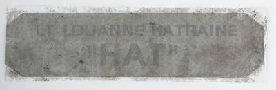 "Lt. Louanne ""Kat"" Katraine's Viper nameplate"