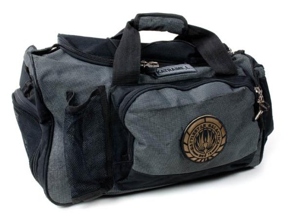 """Louanne """"Kat"""" Katraine's duffel bag"""