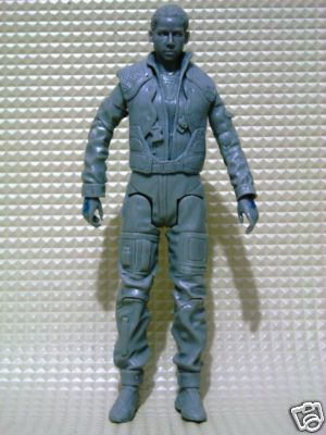 "Uncolored Louanne ""Kat"" Katraine action figure (front)"