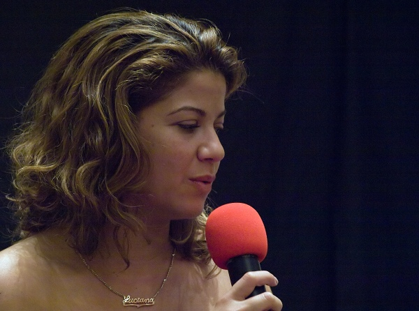 Luciana Carro at Galactica Four - Sunday Q&A