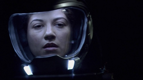 "Luciana Carro as Kat in BSG 2.13 ""Epiphanies"""