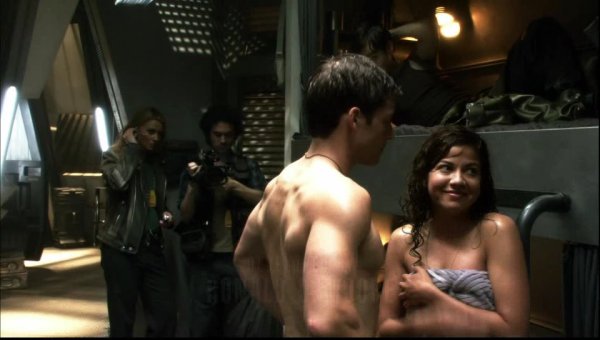 Luciana as Kat in the BSG episode Final Cut