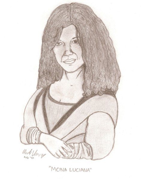 Mona Luciana (sketch by Mark Hastings)
