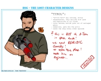 BSG: The Lost Character Designs -- Tyrol (created by Batch, http://batch-online.com)