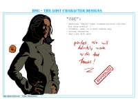 BSG: The Lost Character Designs -- Dee (created by Batch, http://batch-online.com)