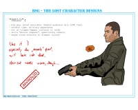 BSG: The Lost Character Designs -- Helo (created by Batch, http://batch-online.com)