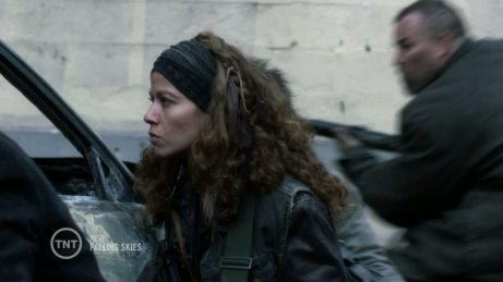 Luciana as Crazy Lee in Falling Skies